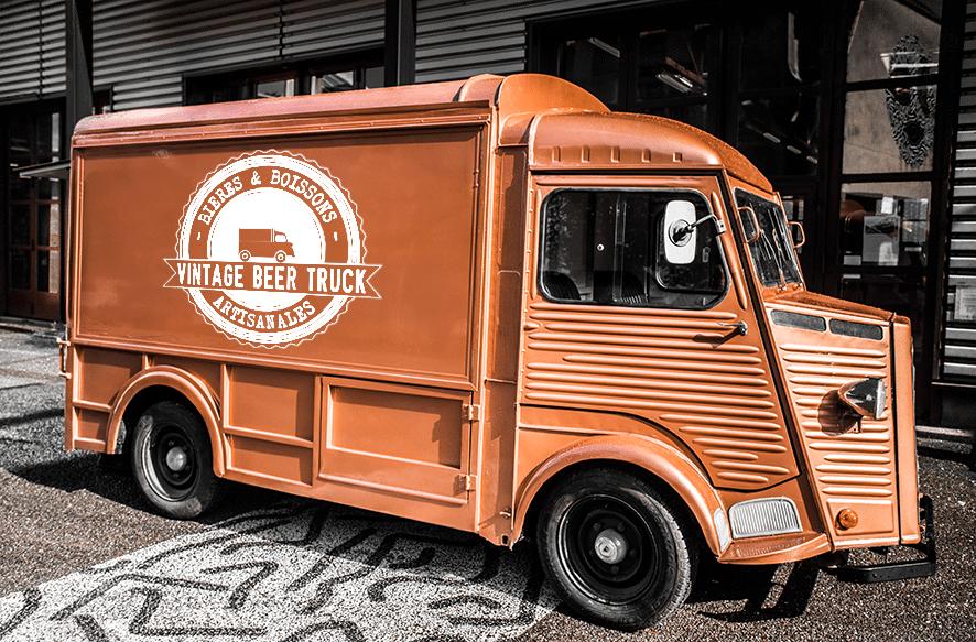 Vintage Beer Truck - Nos prestations