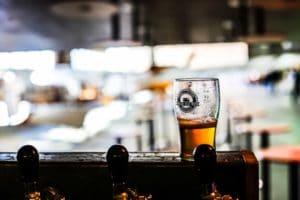 Verre aux couleurs du Vintage Beer Truck