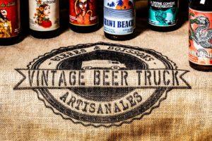 Sac en jute du Vintage Beer Truck