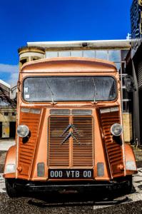 La face du Vintage Beer Truck