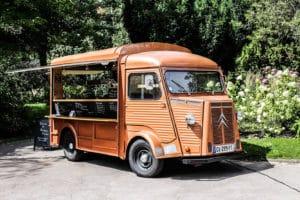 Vintage Beer Truck au 150 ans du Jardin Botanique de Metz